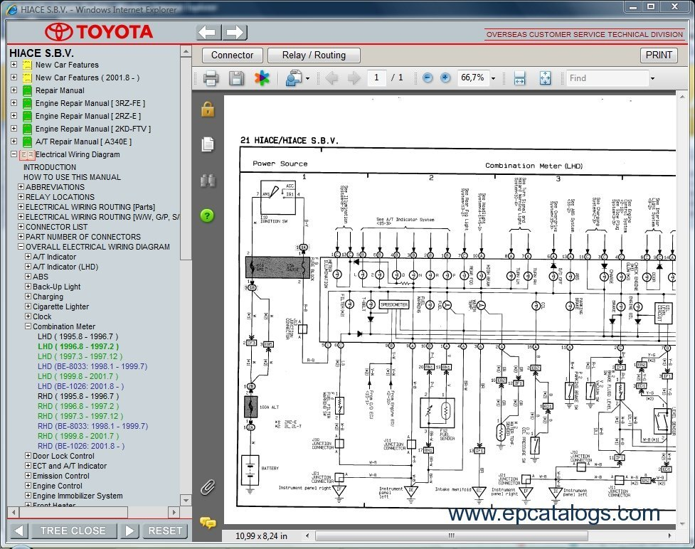 toyota hiace s.b.v., repair manual, cars repair manuals toyota rav4 wiring diagram toyota hiace wiring diagram