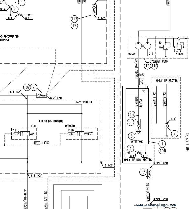 atlas copco wiring schematic atlas copco dh60 l8 drill rig training   service manuals pdf  atlas copco dh60 l8 drill rig training