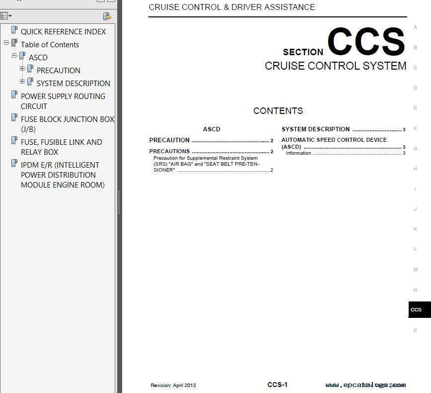 Nissan Versa Note Model E12 Series & Versa Model N17 Series 2014 PDF