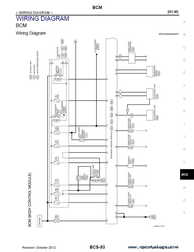 Nissan Pathfinder Model R52 Series 2013 Service Manual PDFEPCATALOGS