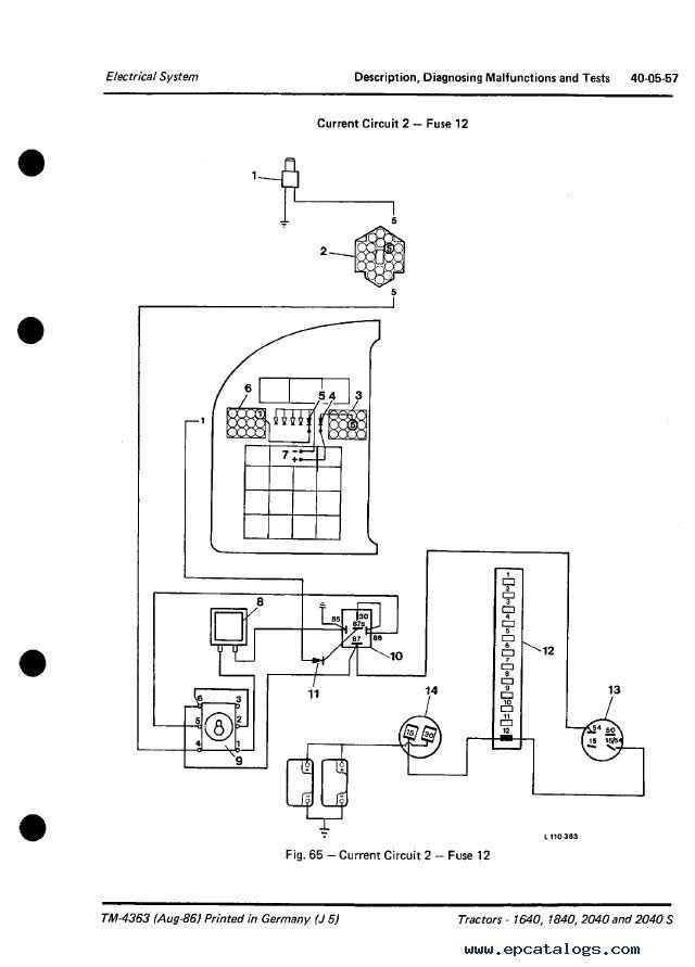 2040 John Deere Light Diagram - Home Wiring Diagram X John Deere Wiring Diagram on