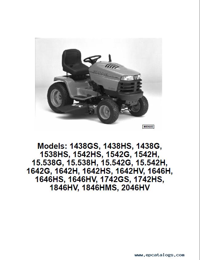 john deere lawn garden tractor tm1769 pdf manual rh epcatalogs com john deere 300 garden tractor manual john deere 300 garden tractor manual