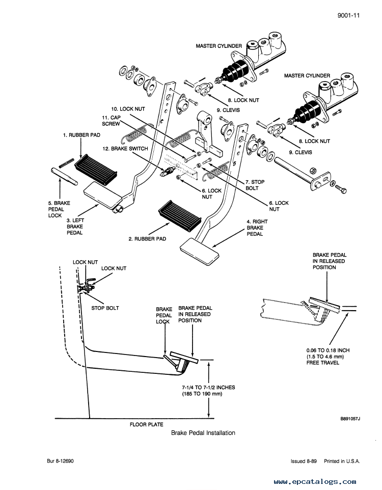 Case 580k Phase 3 Backhoe Loader Service Parts Pdf