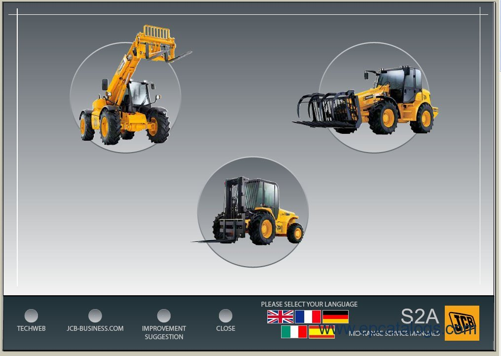 JCB Service Manuals S2A jcb 531 70 wiring schematics wiring diagram simonand jcb js 160 wiring diagram at gsmx.co