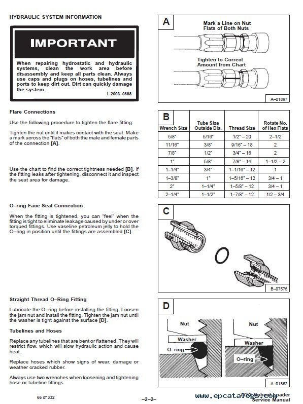 Bobcat 7753 Skid Steer Loader Service Manual Pdf