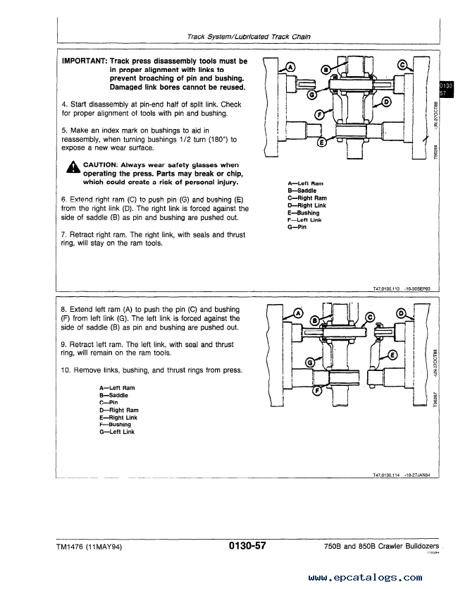 wiring diagram for a john deere 850 b crawler wiring diagram blog john deere 750b 850b crawler bulldozer repair tm1476 technical wiring diagram