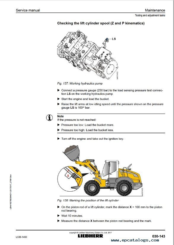 Liebherr L538 1493 Wheel Loader Service Manual Pdfrhepcatalogs: Key Switch Wiring Diagram Liebherr At Elf-jo.com
