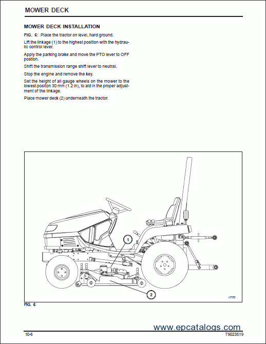 Massey Ferguson Compact Tractor Gc Series Workshop Manual on Massey Ferguson Online Parts Diagram