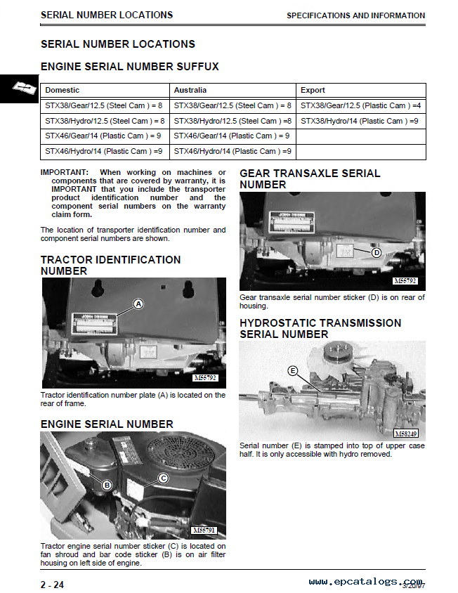 john deere stx30 stx38 stx46 lawn tractors tm1561 technical manual pdf john deere stx30, stx38, stx46 lawn tractors tm1561 technical stx38 wiring diagram pdf at nearapp.co