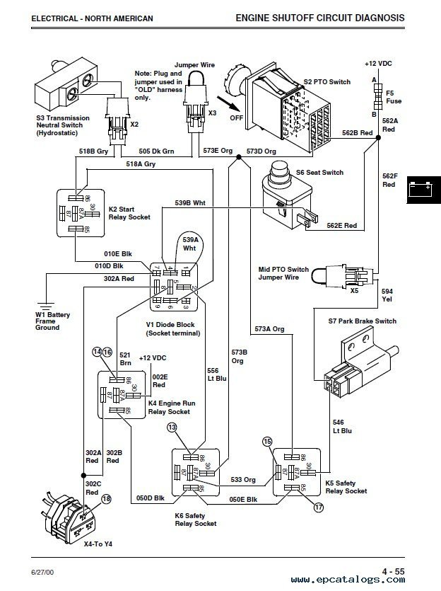 john deere 4500 4600 4700 compact utility tractors tm1679 technical manual john deere 4600 wiring diagram john deere 4600 problems \u2022 indy500 co Winnebago Wiring Diagrams 1979 1980 at eliteediting.co