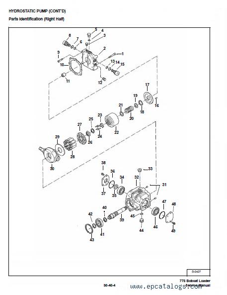 bobcat 773 773 hf 773 turbo g series service manual pdf enlarge