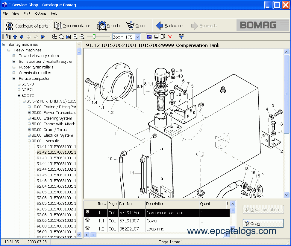 Download Bomag All Spare Parts Catalog 2008 Range Rover Sport Fuse Box Diagram 07 4