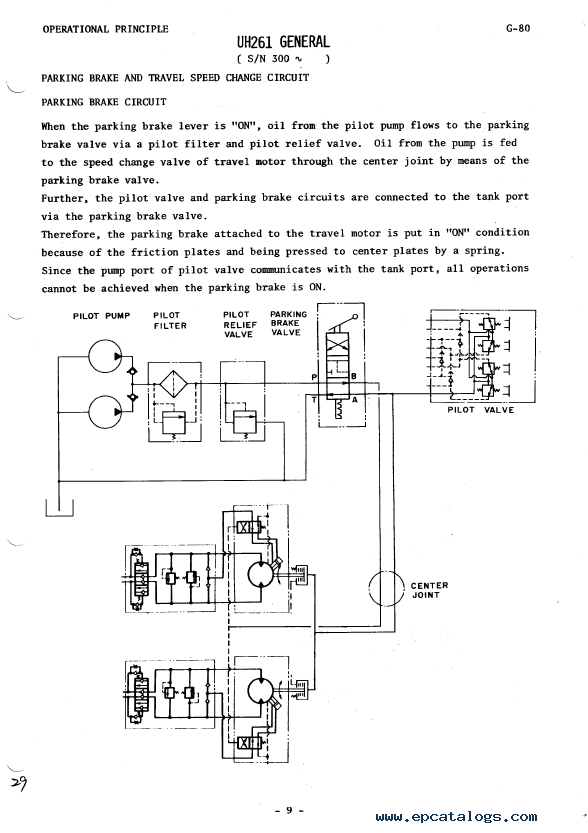 Hitachi ex55ur Excavator Service Manual