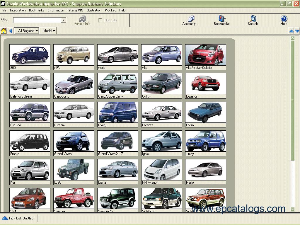 Spare parts catalog suzuki worldwide automotive epc 2012 1 enlarge