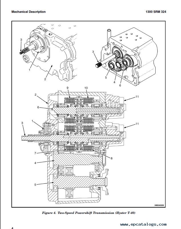 hyster class 5 f006 h135 155xl trucks pdf manual rh epcatalogs com Hyster S120xms Forklift Wiring Diagram Hyster H50XM Wiring-Diagram