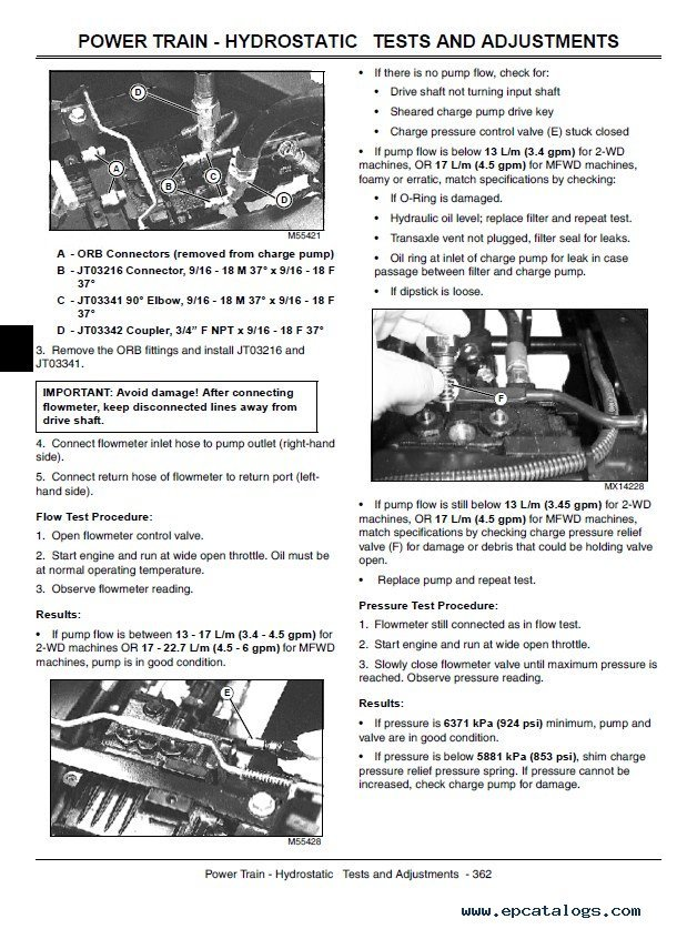 john deere lawn mower repair manual