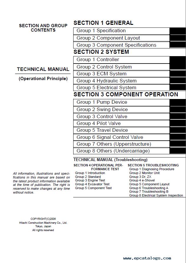 hitachi zaxis 200 3 225us 3 225usr 3 240 3 270 3 pdf rh epcatalogs com Hitachi Excavator Purple Hitachi Excavator Specifications