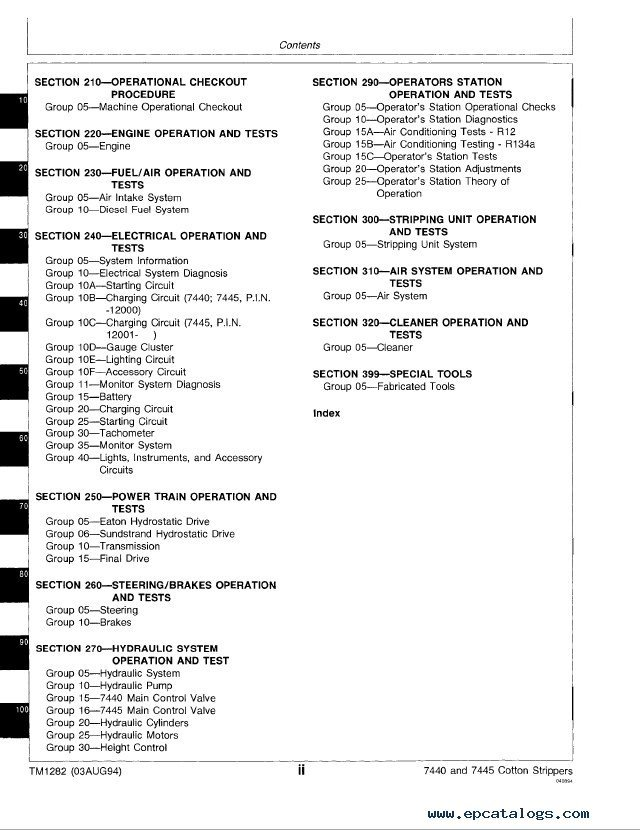 john deere 7440 7445 cotton strippers tm1282 technical manual pdf john deere 7440 & 7445 cotton strippers tm1282 technical manual  at alyssarenee.co