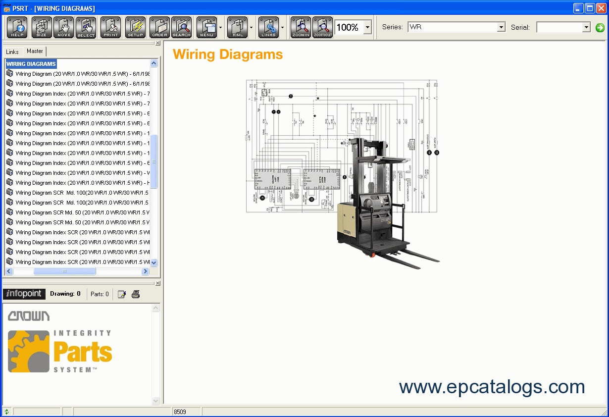 Crown Parts Service Resource Tool crown 20mt service manual 100 images crown pw 3500 forklift Simple Electrical Wiring Diagrams at crackthecode.co