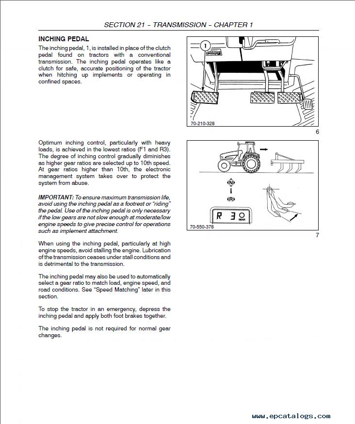 New Holland 70 Series  All Models Tractors Service Workshop Manual