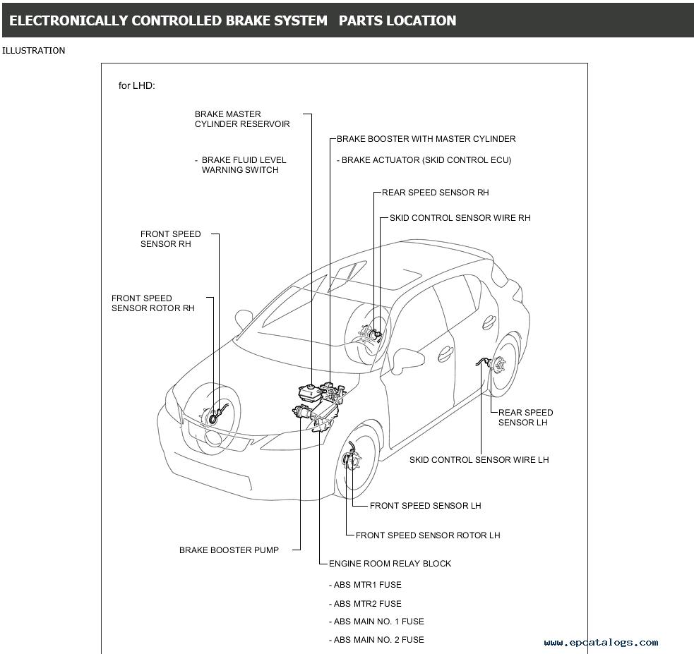 Lexus    CT200h Service Manual 2013 Download