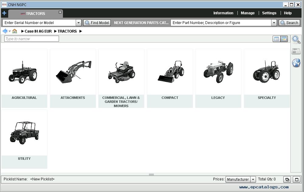 Case Ih Ag Europe 2021 Electronic Parts Catalog