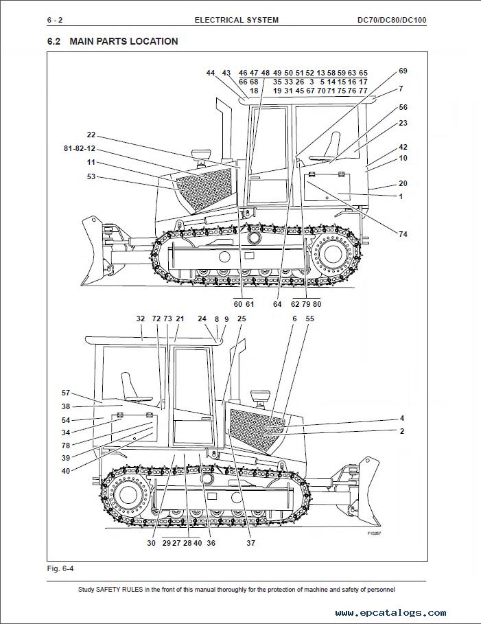 New Holland DC70 DC70LGP DC80 DC80LGP DC100 DC100LGP PDF Service Manual PDF