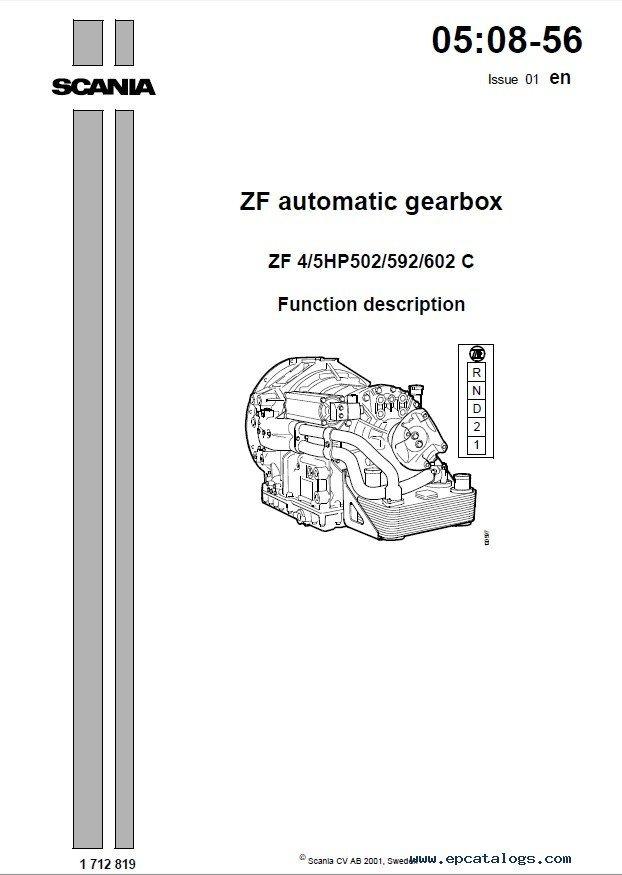 Zf 5hp19 Repair Manual