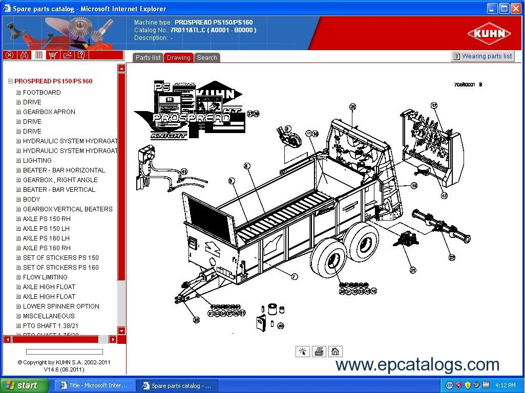 Kuhn gmd 77 owners Manual