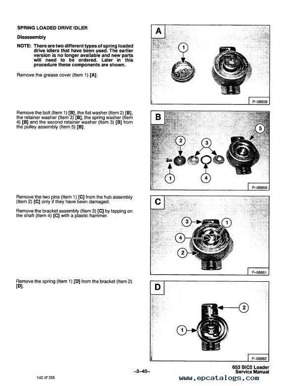 Bobcat Skid Steer Loader Service Manual Pdf