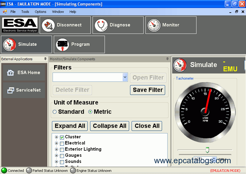 paccar electronic service analyst diagnostic software enlarge