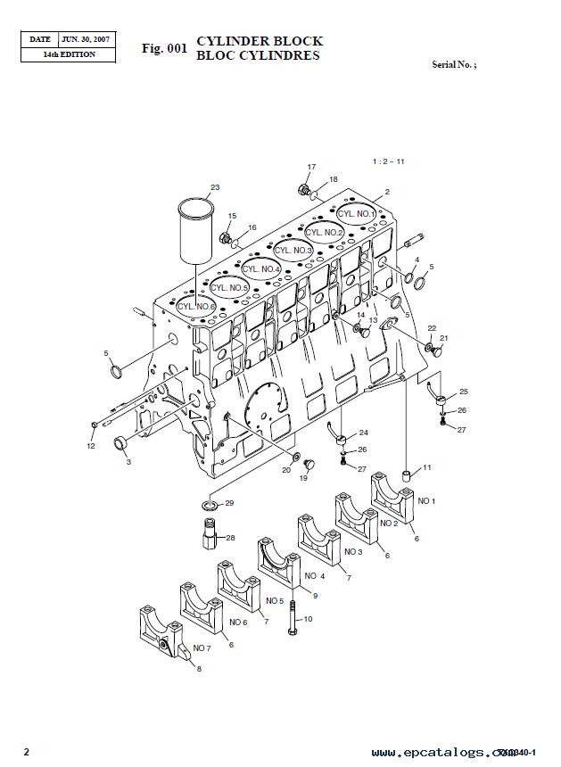 Terex TXС 340LC-1 Hydraulic Excavator Parts Manual PDF
