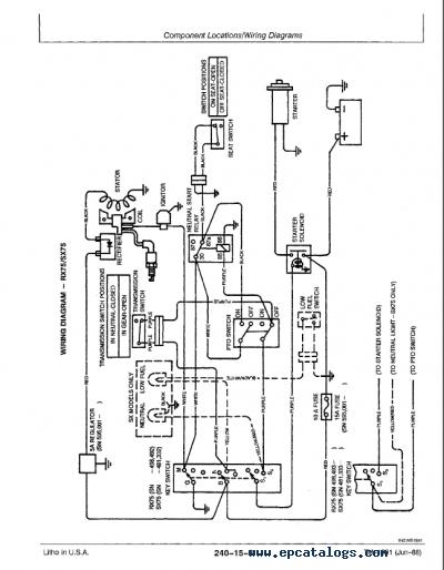 john deere riding mower wiring diagram john deere rx sx series riding mowers tm1391 pdf manual john deere 68 riding mower wiring diagram john deere rx sx series riding mowers