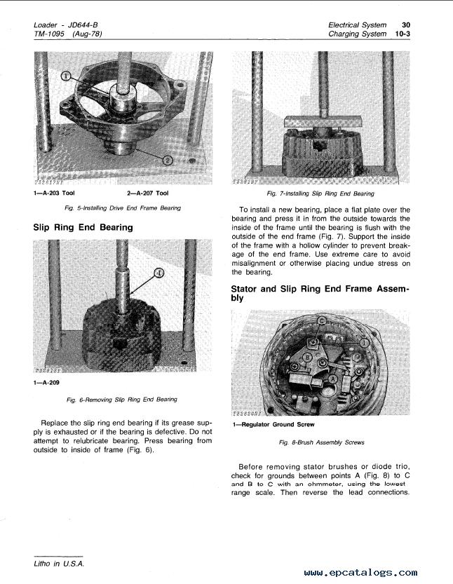 john deere 644 b loader tm1095 technical manual pdf repair manual enlarge repair manual john deere 644 b loader tm1095 technical manual pdf 3 enlarge