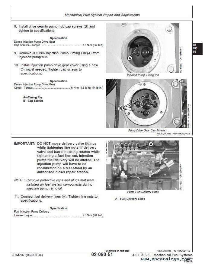 john deere 4045t engine manual