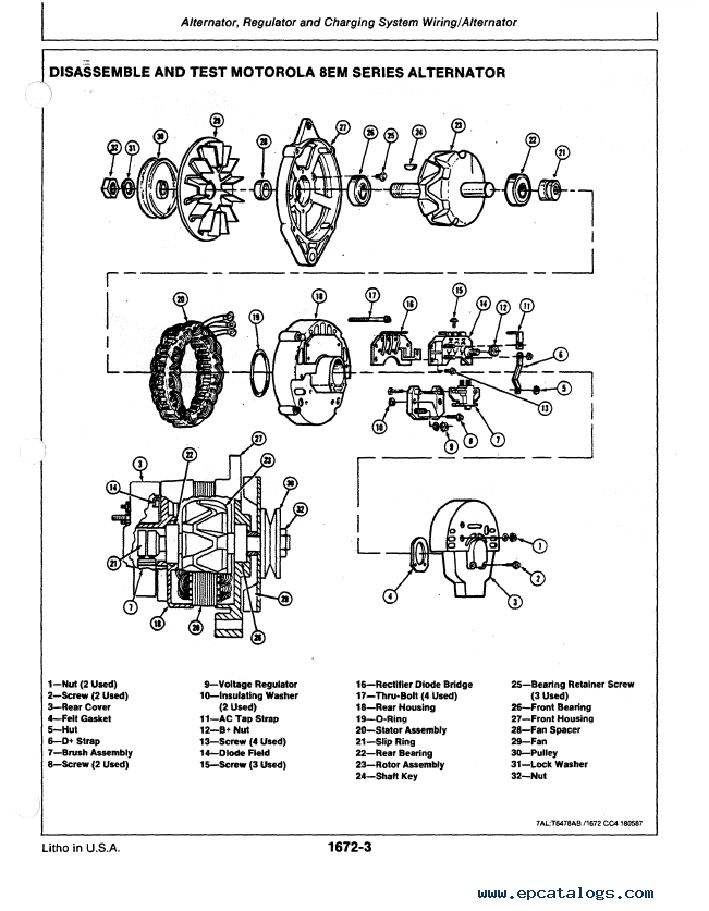 Engine John Deere 4024 Manual