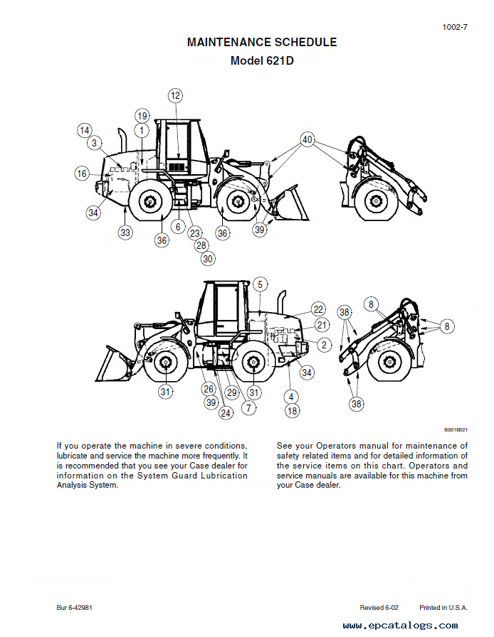 case 621d wheel loader service manual pdf repair manual forklift enlarge