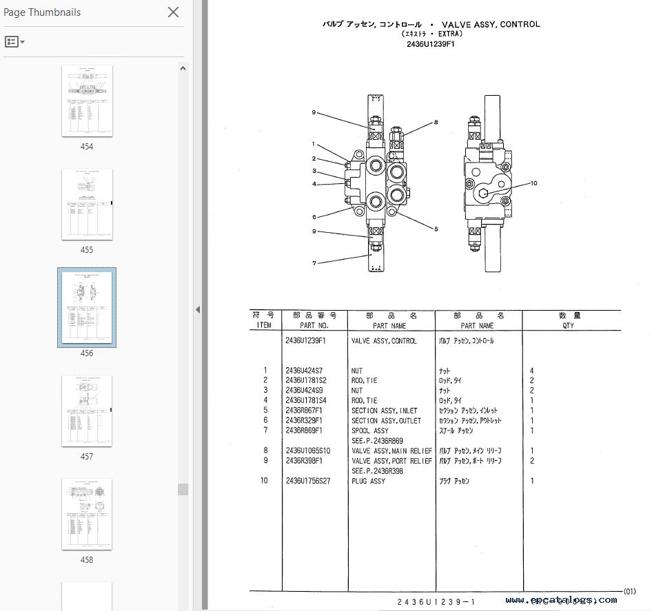 WRG-2562] Isuzu Diesel Engine Parts Manual
