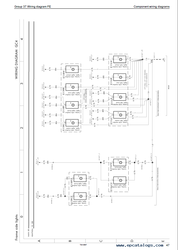 Daewoo Forklift Electrical Wiring Diagram