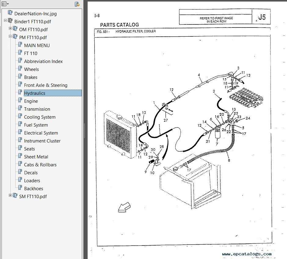 yto wiring diagram wiring diagram for fiat allis ft110 - wiring diagram #4
