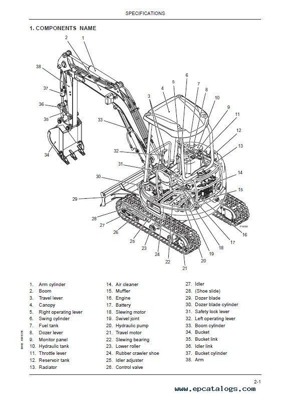 download fiat kobelco e30  35sr evolution excavators pdf