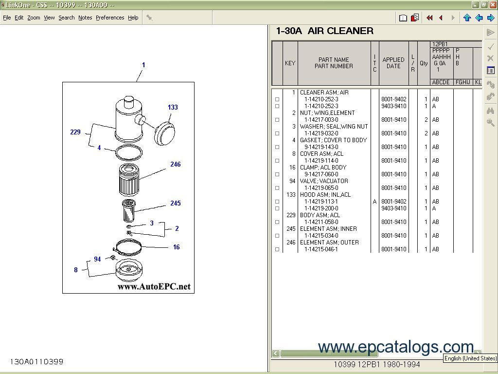 isuzu 3cb1 engine wiring diagram isuzu trucks industrial engines isuzu css net spare parts catalog cars catalogues enlarge