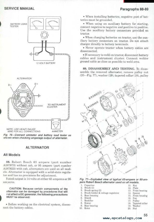 case ih 5120 5130 5140 tractors shop manual pdf repair manual enlarge