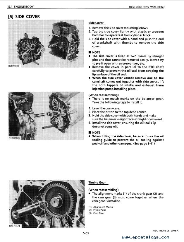 Kubota B1400 pdf manual