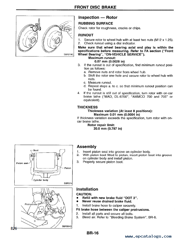 Nissan 240SX Model S14 Series Service Manual PDF