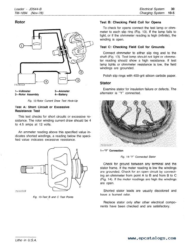 544 john deere b engine diagram 544 wiring diagrams cars john deere jd544b loader tm1094 technical manual pdf repair