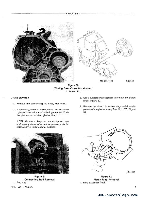 Holland Ford 1320  1520  1720 Tractor Repair Manual Pdf Download