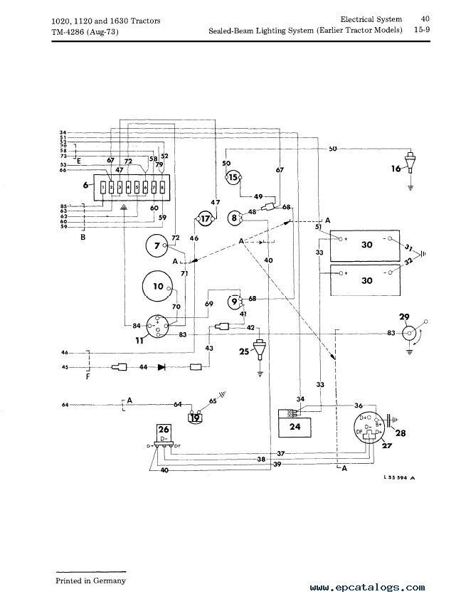 John    Deer 350    Wiring       Diagram        Wiring       Diagram