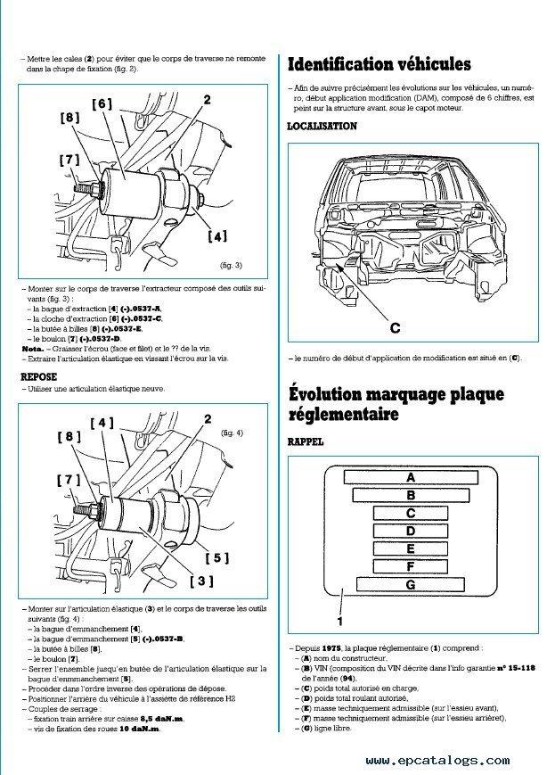 peugeot 806 fiat citroen evasion jumpy 1994 2001 pdf rh epcatalogs com Peugeot 107 Peugeot 406
