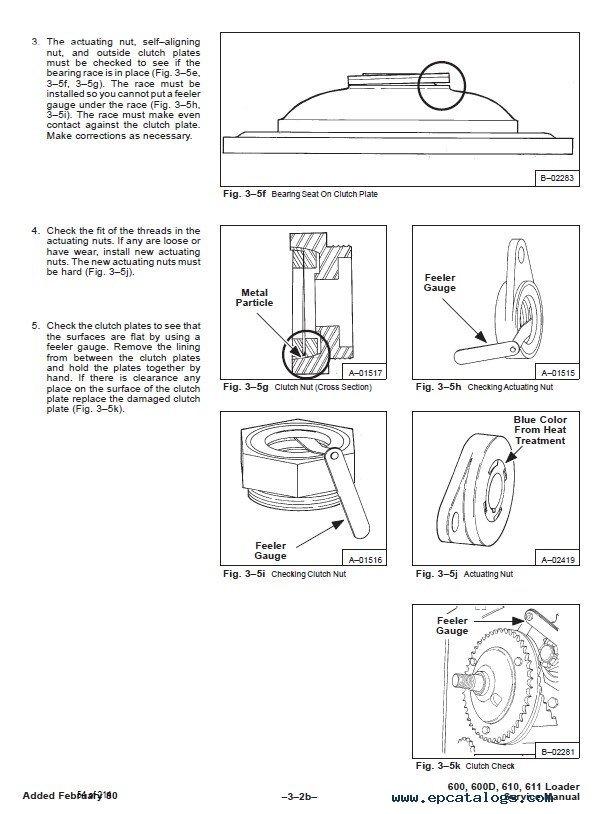 Bobcat 600, 600D, 610, 611 Skid Steer Loaders Service Manual PDF